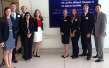 Students were honored to take a tour of Nemours Children's Hospital in Orlando, FL while traveling in 2013.