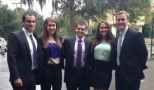 MHA Alum Kyle Baxter toured a group of HASA members around North Florida Regional Medical Center in Gainesville, FL.